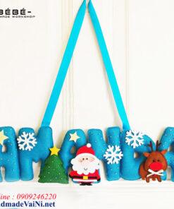 Dây chữ merry christmas handmade -MC01