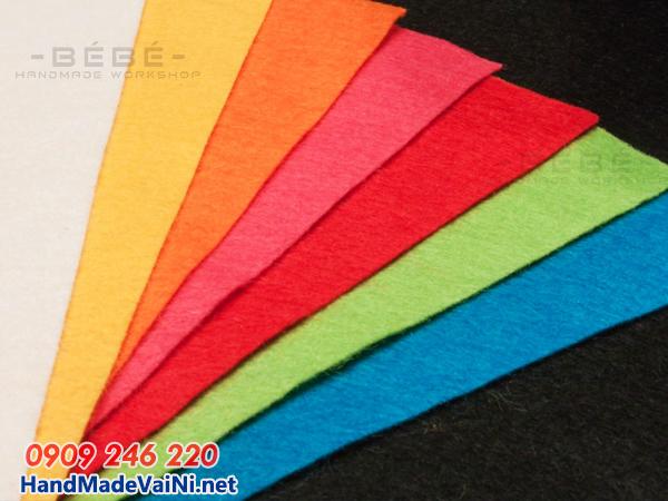 Mua vải dạ nỉ làm đồ handmade ở đâu rẻ nhất ?