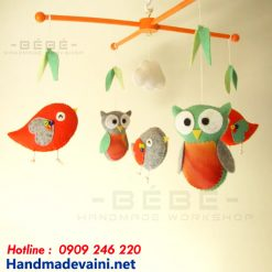 Bộ treo nôi cũi vườn chim handmade DC15