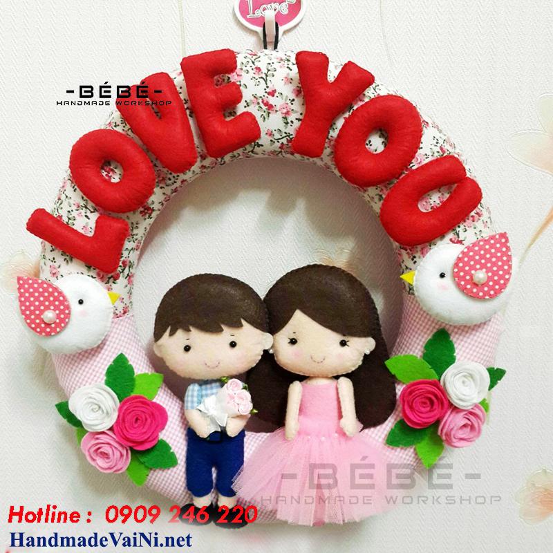 Qùa tặng đám cưới handmade độc đáo và ý nghĩa QC01