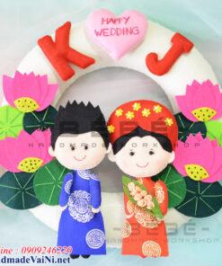 Quà cưới handmade tặng cô dâu chú rể QC04