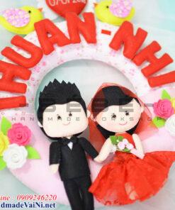 Quà mừng đám cưới ý nghĩa handmade QC05