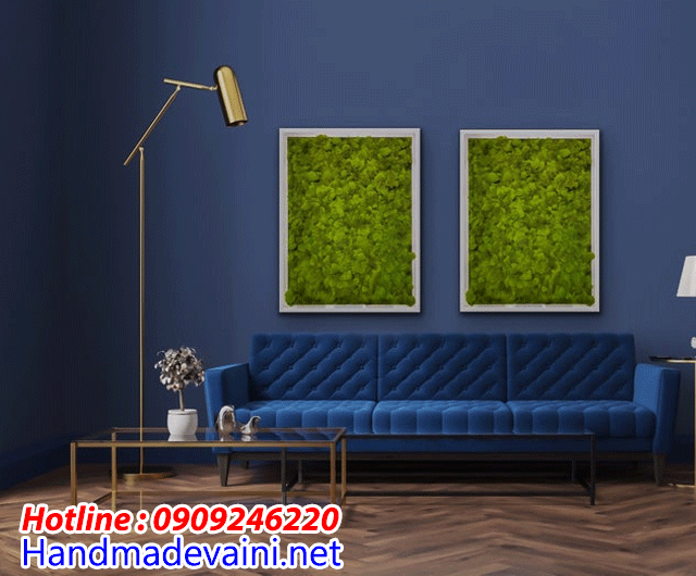 bức tường rêu handmade