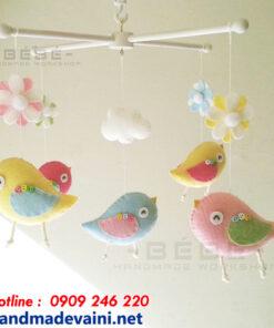 Đồ chơi treo nôi vườn chim handmade DC11