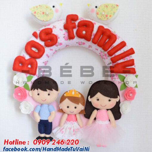 Quà tặng sinh nhật handmade Bos Family