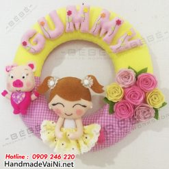Quà tặng handmade cho bé gái sinh năm kỷ hợi sn0028