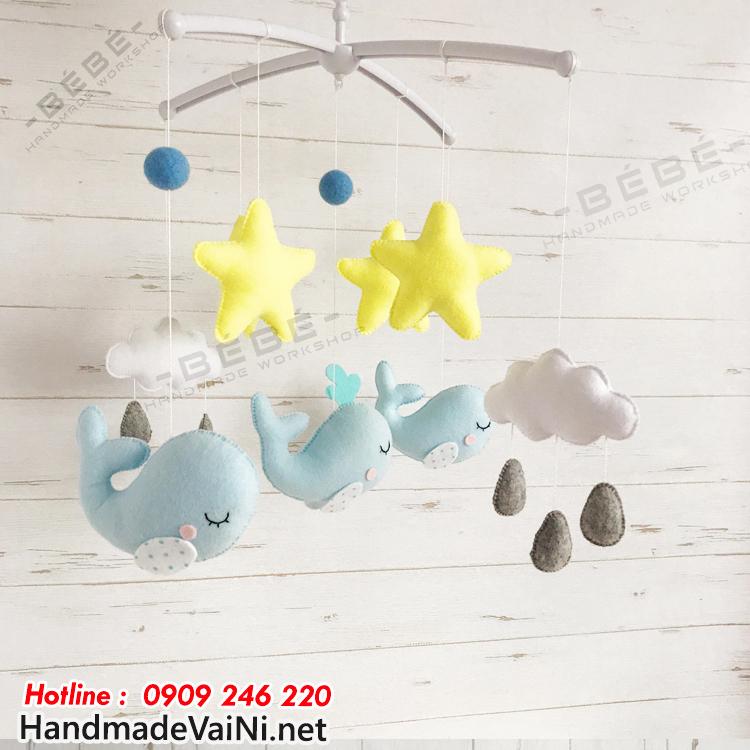 Ưu điểm khi sử dụng đồ chơi treo nôi cũi handmade cho bé sơ sinh