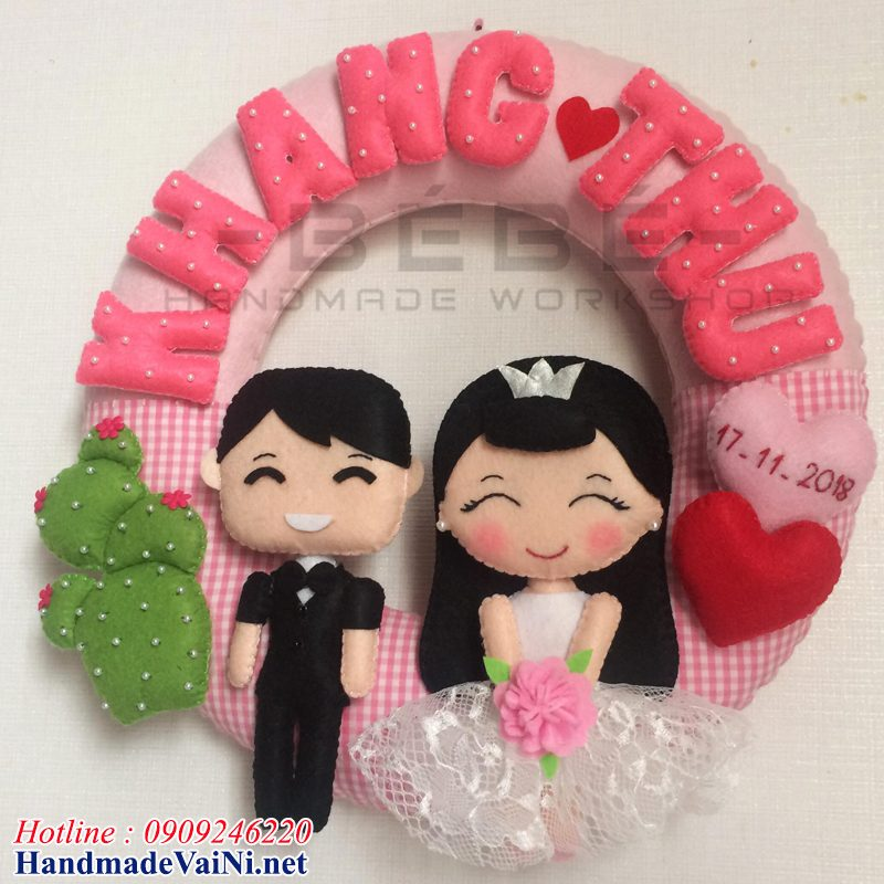 Quà cưới handmade bá đạo QC09